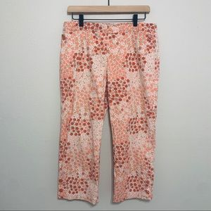 Anthropologie | Odille Light Weight Floral Pants